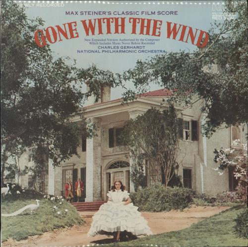 STEINER, MAX - Max Steiner's Classic Film Score ''Gone With The Wind'' - Maxi 33T