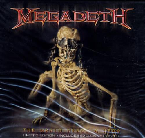 Megadeth The World Needs A Hero Limited Edition Uk Cd
