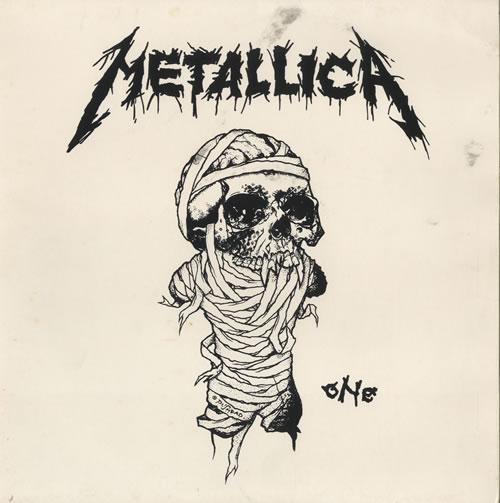 Metallica One Uk Promo 12 Quot Vinyl Record Maxi Single