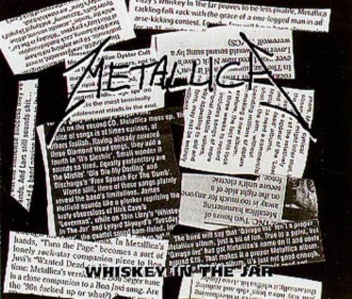 Whiskey In The Jar By Metallica Cd With Eilcom Ref3088486499