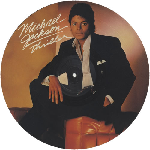 Michael Jackson Thriller Uk Lp Picture Disc Epc11 85930