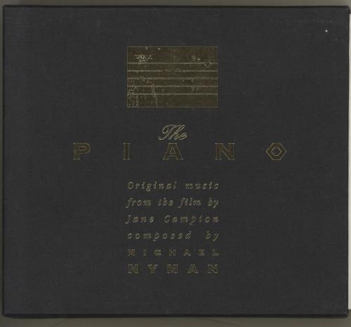 NYMAN, MICHAEL - The Piano - CD