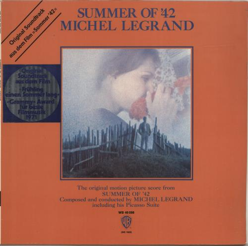 LEGRAND, MICHEL - Summer Of '42 - 12 inch 33 rpm