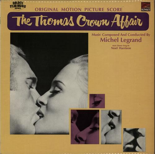 LEGRAND, MICHEL - The Thomas Crown Affair - Maxi 33T