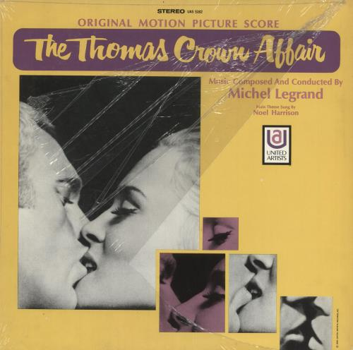 LEGRAND, MICHEL - The Thomas Crown Affair - Maxi 33T