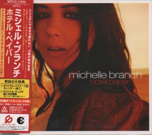 michelle branch hotel paper Michelle branch michelle branch em  na carreira artística em 2000 e nos anos seguintes já conquistou o disco de platina pelos álbuns the spirit room e hotel paper.