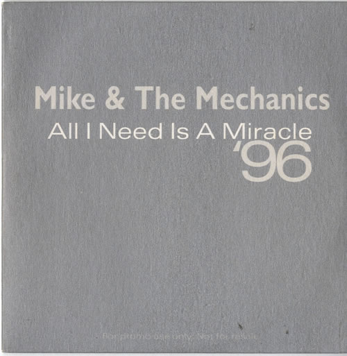all i need is a miracle 96 mike the mechanics cd 売り手