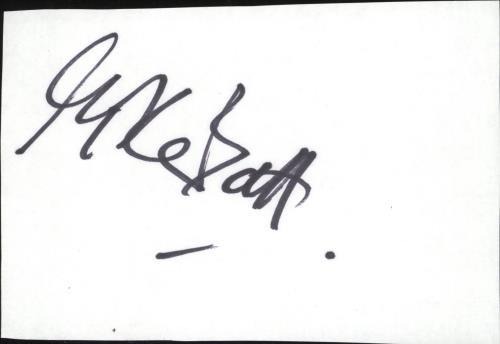 BATT, MIKE - Autograph - Others