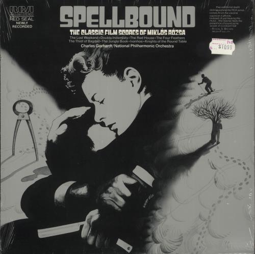 ROZSA, MIKLOS - Spellbound - The Classic Film Scores Of Miklos Rozsa - 12 inch 33 rpm