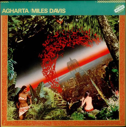 DAVIS, MILES - Agharta + obi - 12 inch 33 rpm