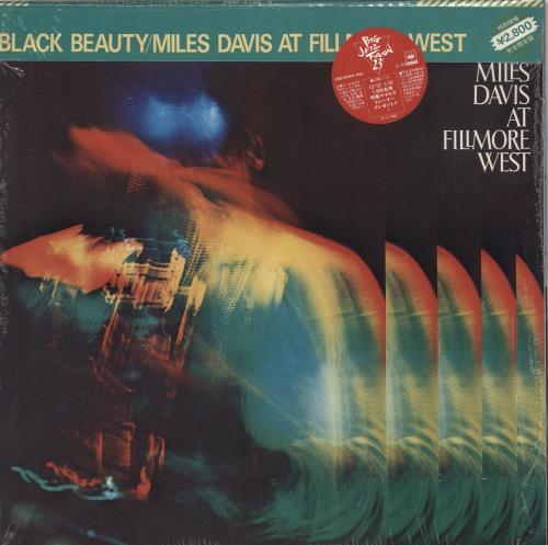 DAVIS, MILES - Black Beauty - Miles Davis At Fillmore West + shrink - 12 inch 33 rpm