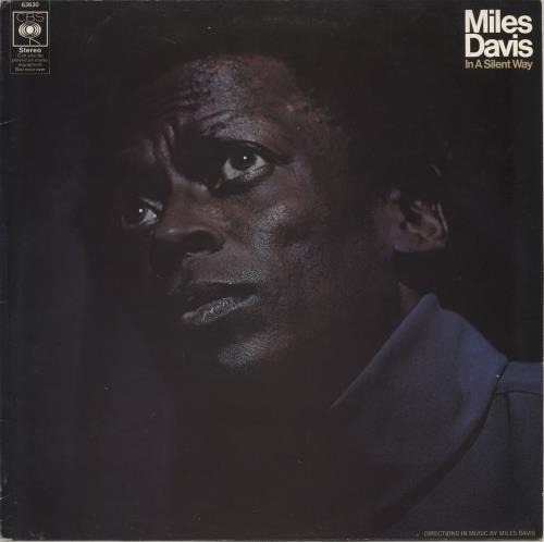 DAVIS, MILES - In A Silent Way - red label - Maxi 33T