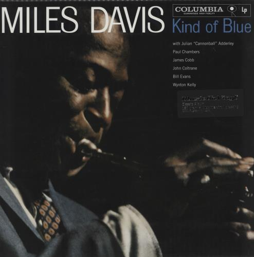 DAVIS, MILES - Kind Of Blue - Mono - 180gm Vinyl - Sealed - Maxi 33T