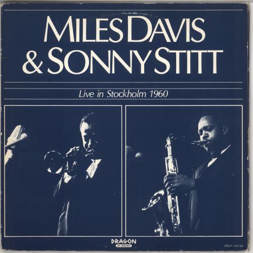 DAVIS, MILES - Live In Stockholm 1960 - VG - Maxi 33T