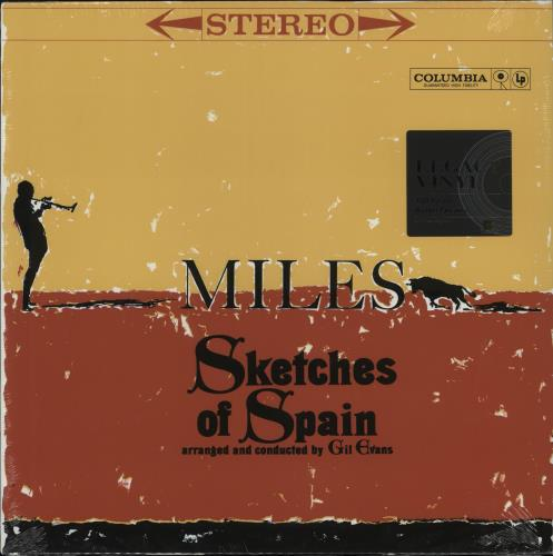 DAVIS, MILES - Sketches Of Spain - 180gm - Sealed - 12 inch 33 rpm
