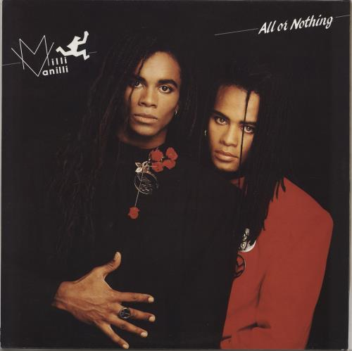 MILLI VANILLI - All Or Nothing - Maxi 33T