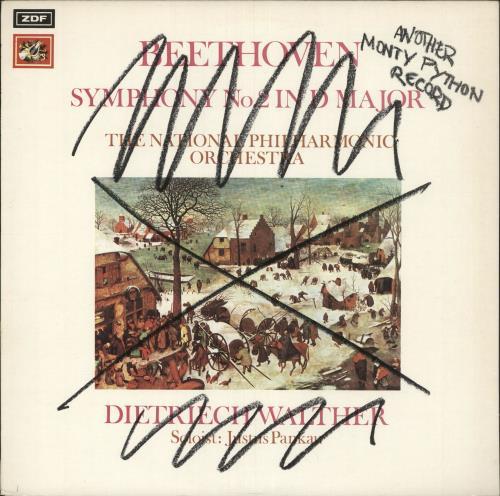 MONTY PYTHON - Another Monty Python Record - Blue Label - 12 inch 33 rpm