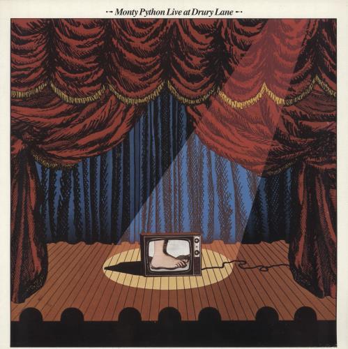 MONTY PYTHON - Live At Drury Lane - Maxi 33T