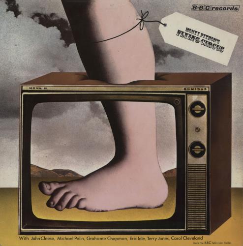 MONTY PYTHON - Monty Python's Flying Circus - 1st - Maxi 33T