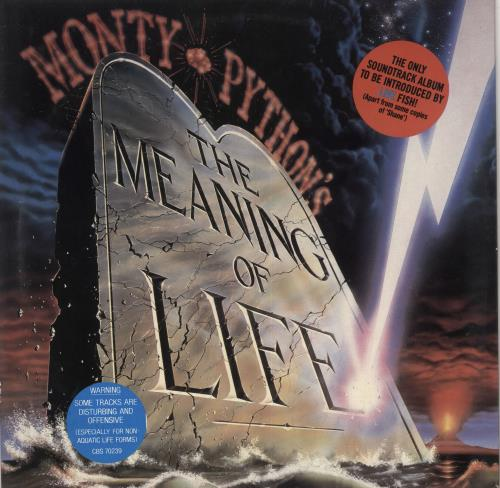 MONTY PYTHON - The Meaning Of Life - Maxi 33T