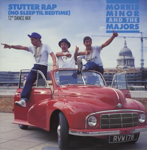 MORRIS MINOR & THE MAJORS - Stutter Rap (No Sleep Til Bedtime) - Maxi 33T