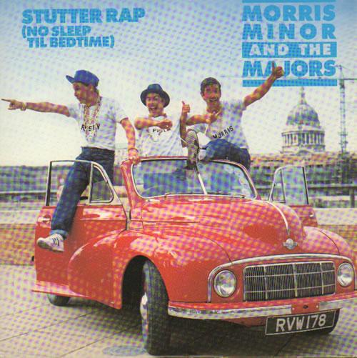MORRIS MINOR & THE MAJORS - Stutter Rap (No Sleep Til Bedtime) - 7inch x 1