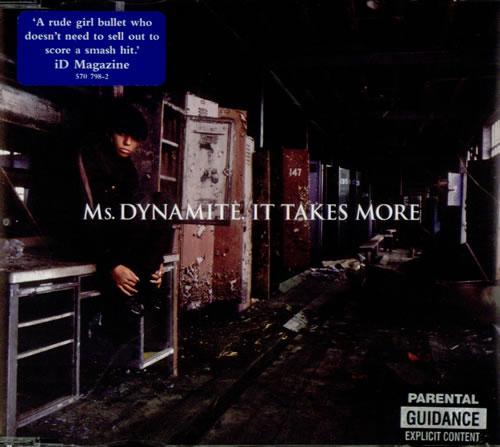 Ms Dynamite It Takes More Uk 5 Cd Single 570798 2 It Takes More Ms