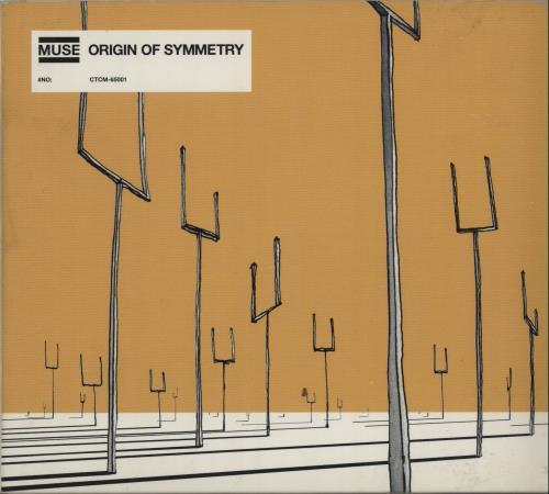 Muse Origin Of Symmetry Japan Promo Cd Album CTCM 65001