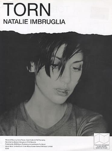 Natalie Imbruglia Torn Uk Sheet Music Am951600 Torn