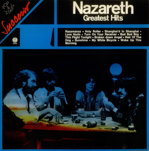 Nazareth Greatest Hits Italian Vinyl Lp Record 9279545