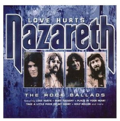 Nazareth Love Hurts The Rock Ballads Uk Cd Album Mccd486