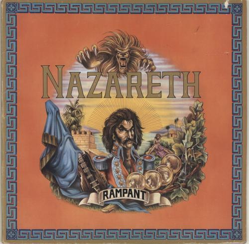 Nazareth Rampant Vinyl Records Lp Cd On Cdandlp