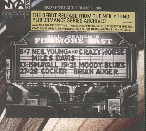 young, neil live at fillmore east