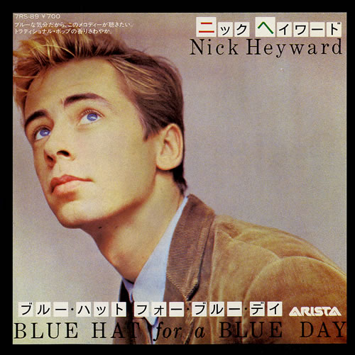 Nick Heyward Blue Hat For A Blue Day Japanese 7 Vinyl Record 7rs 89