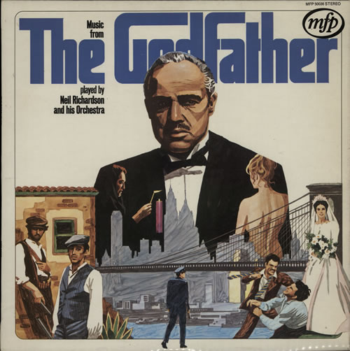 ROTA, NINO - Music From The Godfather - 12 inch 33 rpm