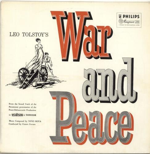 ROTA, NINO - War And Peace - 12 inch 33 rpm