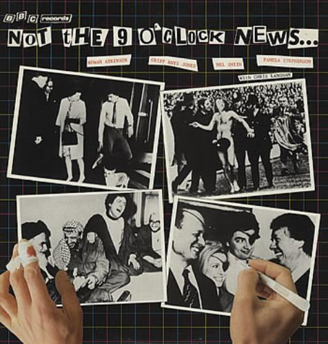 NOT THE NINE O'CLOCK NEWS - Not The 9 O'Clock News... - 12 inch 33 rpm