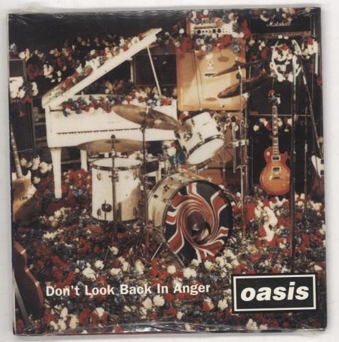 """Look Back In Anger Quotes: Oasis (Uk) Don't Look Back In Anger USA 5"""" Cd Single 34K"""