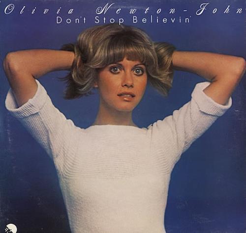 NEWTON JOHN, OLIVIA - Don't Stop Believin' - Maxi 33T