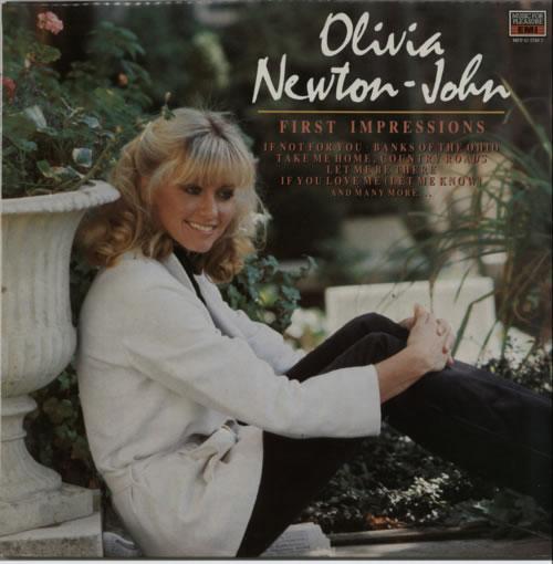 NEWTON JOHN, OLIVIA - First Impressions - Maxi 33T