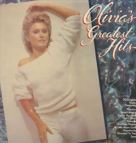 NEWTON JOHN, OLIVIA - Greatest Hits - Maxi 33T