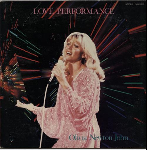 NEWTON JOHN, OLIVIA - Love Performance + poster - Maxi 33T