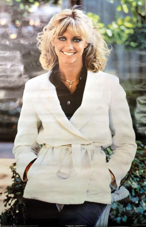 NEWTON JOHN, OLIVIA - Olivia Newton John 1978 - Poster / Affiche