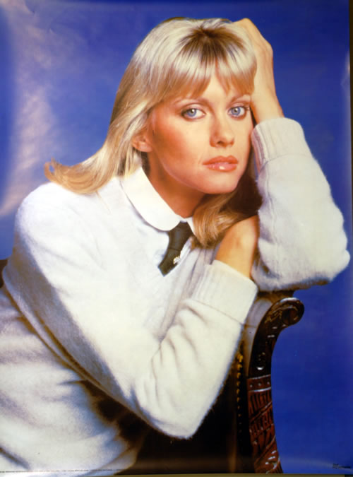 NEWTON JOHN, OLIVIA - Olivia Newton John by Rex Features - Poster / Display