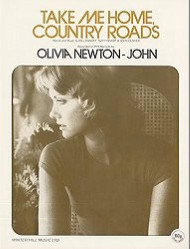 NEWTON JOHN, OLIVIA - Take Me Home Country Roads - Brown - Others
