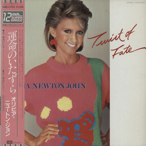 NEWTON JOHN, OLIVIA - Twist Of Fate - Maxi 33T