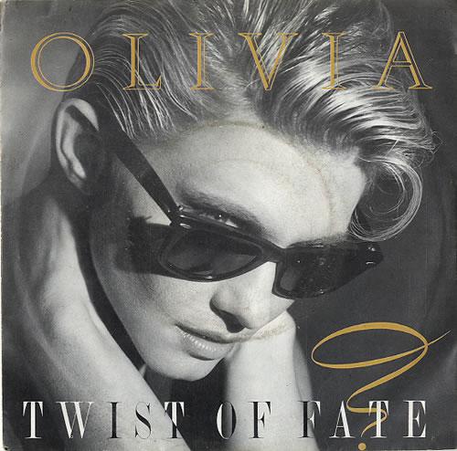 NEWTON JOHN, OLIVIA - Twist Of Fate - 7inch x 1