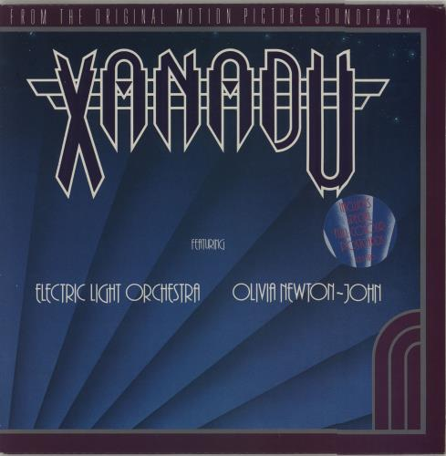 NEWTON JOHN, OLIVIA - Xanadu + Postcards & Merchandise Insert - 12 inch 33 rpm