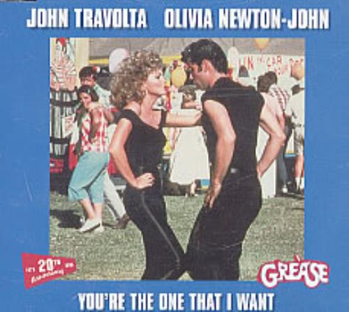 NEWTON JOHN, OLIVIA - You're The One That I Want - CD