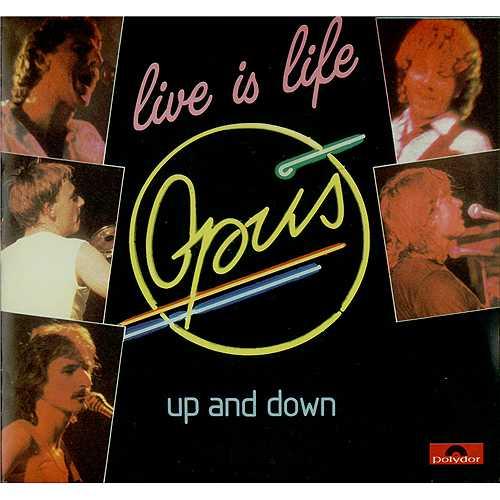 Opus Live Is Life Sleeve Uk 7 Quot Vinyl Record Posp743 Live